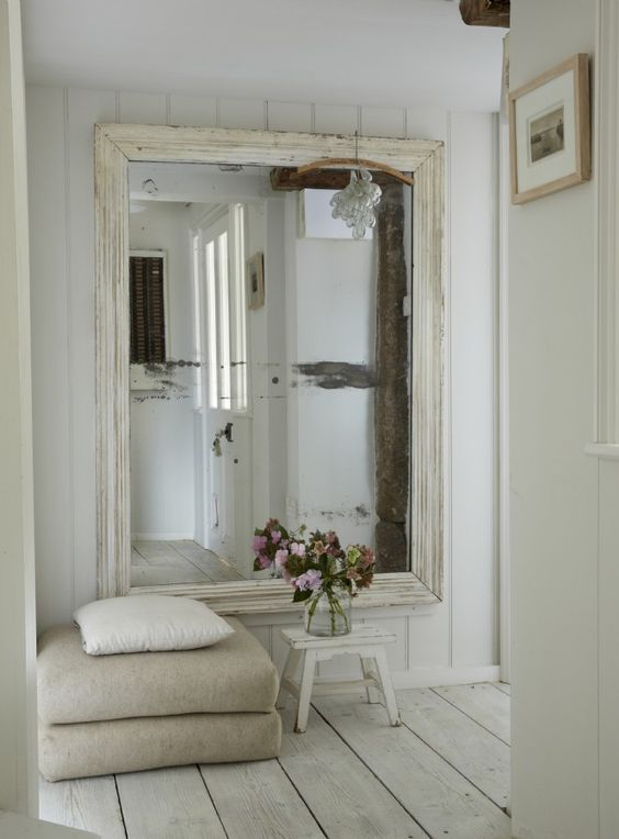 Espejos grandes para decorar el recibidor - Espejos grandes de pared ...