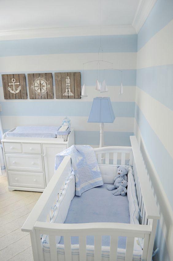 Ideas Para Decorar Las Paredes De La Habitación Del Bebé