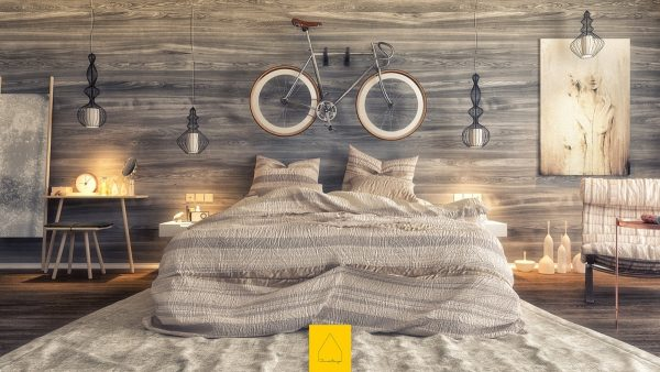 attic interior design ideas - Paredes con diseños de madera para decorar habitaciones