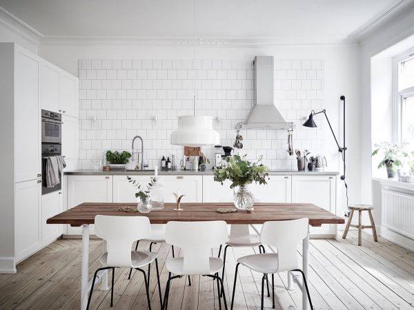 Ideas e inspiraci n para una cocina en estilo n rdico for Tiradores estilo industrial