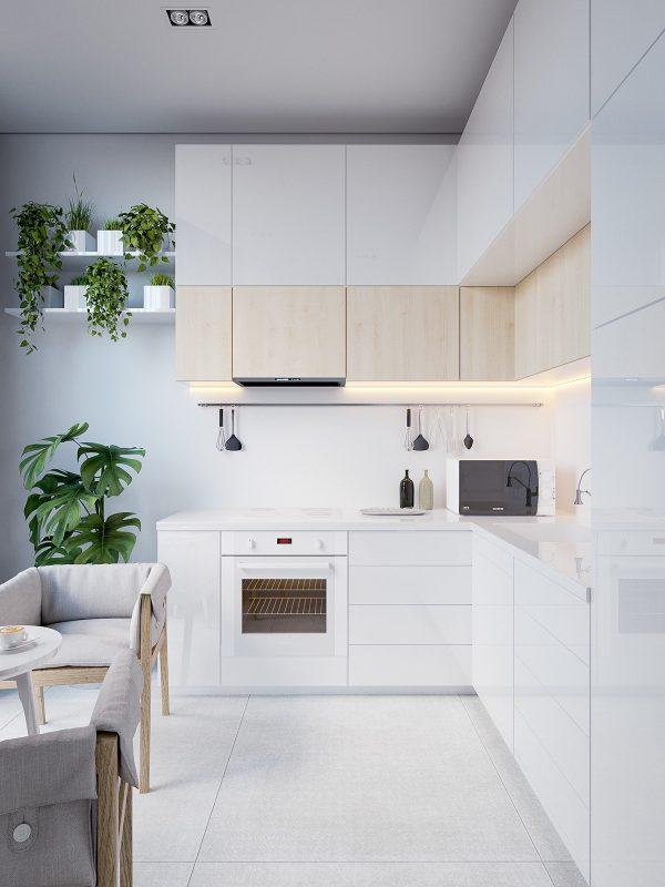 Ideas e inspiraci n para una cocina en estilo n rdico - Estilo de cocinas ...