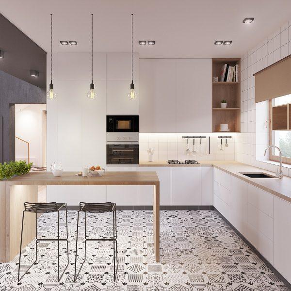 Ideas e inspiraci n para una cocina en estilo n rdico for Cocina estilo nordico