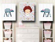 imagen Ideas para decorar las paredes de la habitación de tu bebé