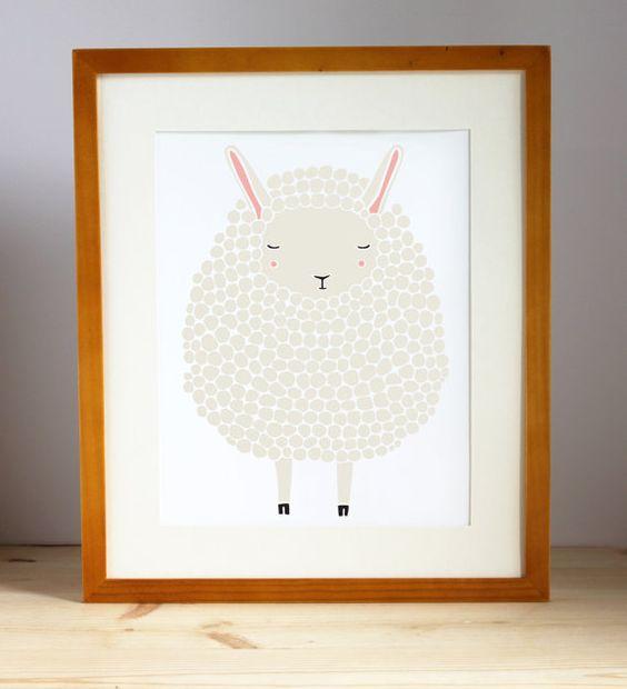 los animalitos son una de las temticas sino la ms importante a la hora de decorar la habitacin de los bebs esta encantadora ovejita quedar perfecta