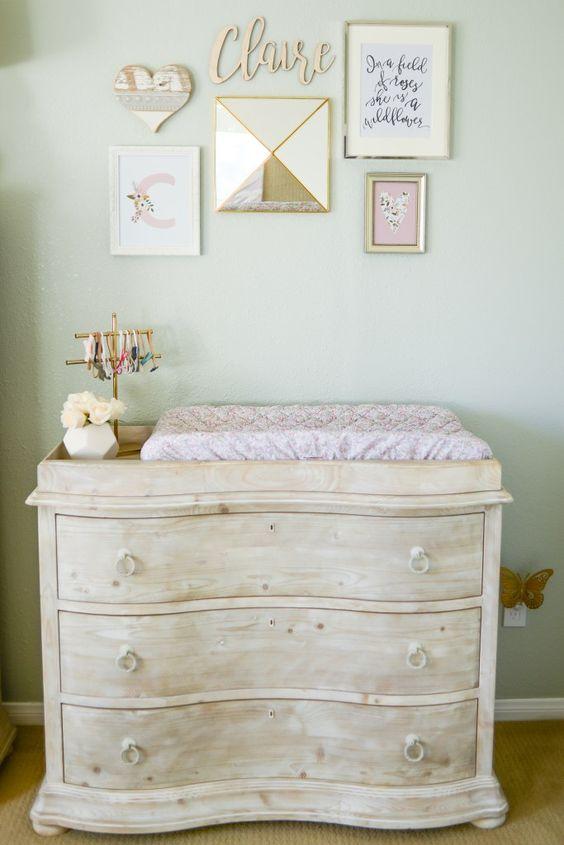 dorado son unos colores que transmiten glamour y estilo para que nuestra beb tenga un entorno sofisticado y elegante with color paredes habitacion bebe