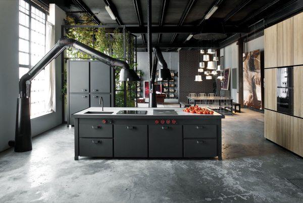 19 cocinas de estilo industrial para sorprenderse