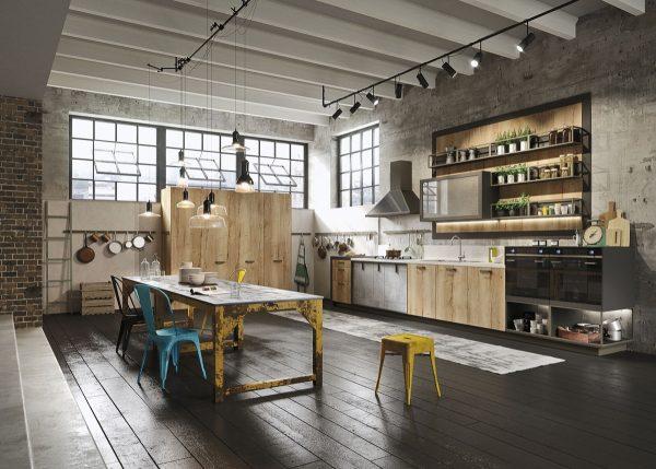 19 cocinas de estilo industrial para sorprenderse for Cocinas de estilo industrial