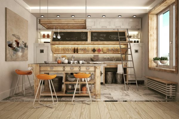 19 cocinas de estilo industrial para sorprenderse for Cocina estilo industrial