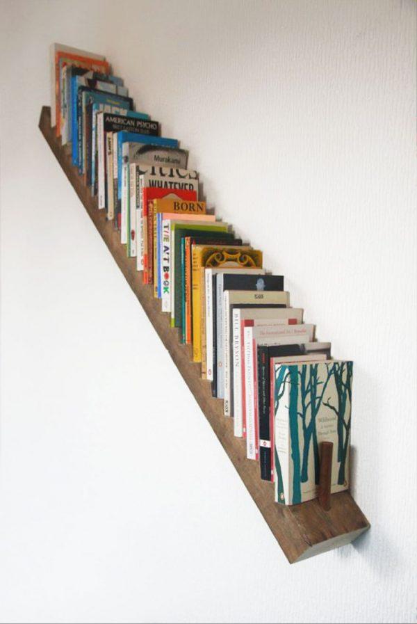 Librer as y escaleras una buena combinaci n para decorar - Librerias con escalera ...