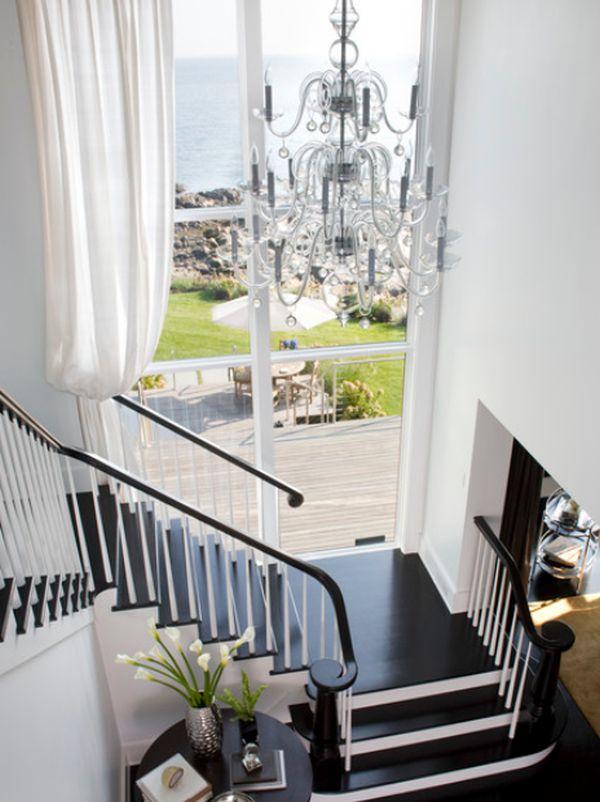 10 sencillas y elegantes escaleras de madera