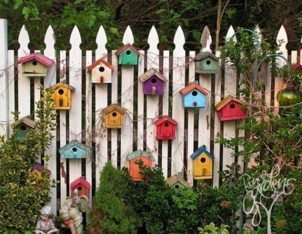14 ideas DIY para decorar la valla del jardn