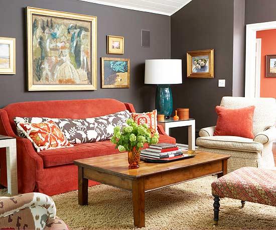 15 ideas en rojo para tu sala de estar 15 gu a para decorar for Ar 15 decorations