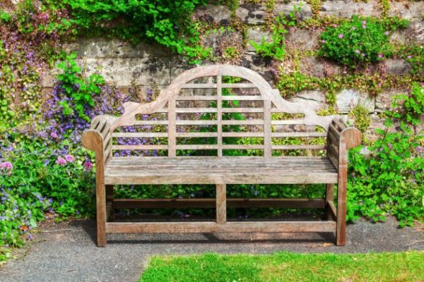 18 ideas para elegir el banco de jard n ideal - Presupuesto jardin ...