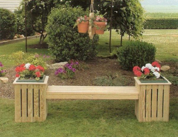 18 ideas para elegir el banco de jard n ideal for Bancos de jardin rusticos