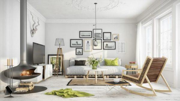 el arte toma aqu la primera lnea y marca el carcter de esta sala de estar con esa bonita coleccin de imgenes destaca tambin es estupenda lmpara de