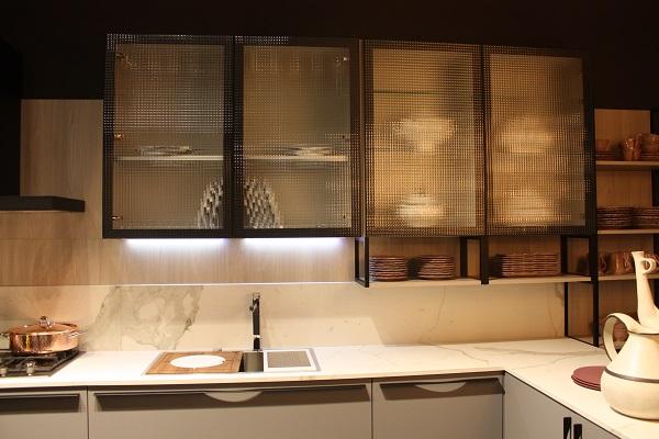Ideas de armarios de cocina con puertas de cristal - Puerta armario cocina ...