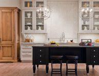 imagen Armarios de cocina con puertas de cristal