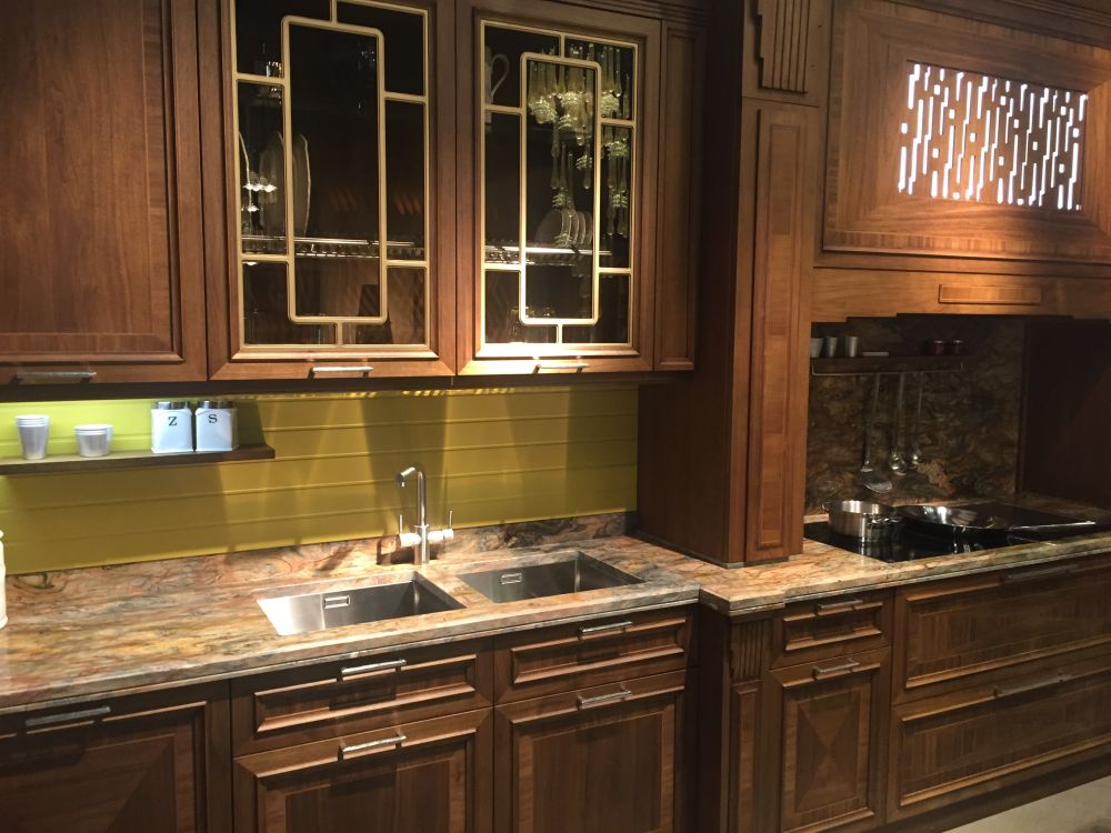 Ideas de armarios de cocina con puertas de cristal - Cristal para cocina ...