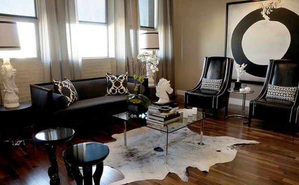 C mo decorar la casa con muebles de color negro for Casa con muebles transformables