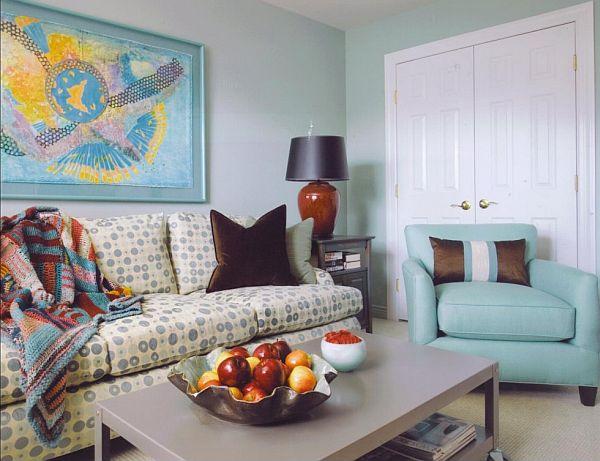 colores de pared azul para sala de estar Decoremos En Color Azul Y Toda Su Gama Nuestra Sala De Estar