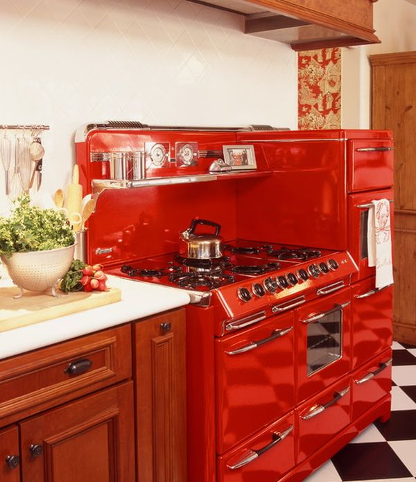 Electrodomésticos retro para decorar la cocina