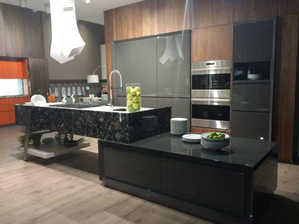 Modernos muebles de cocina en color gris 08 gu a para for Muebles de cocina gris