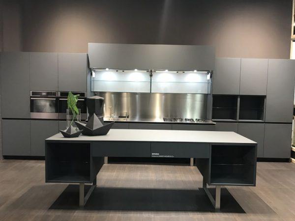 Muebles de cocina color gris acero ideas interesantes para dise ar los ltimos - Color gris acero ...