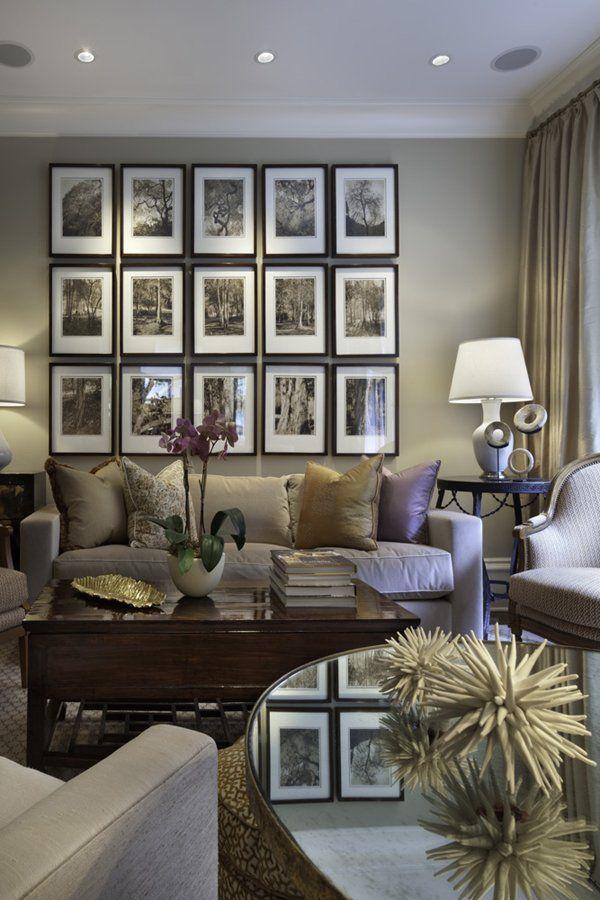 ideas de paleta de colores para sala de estar Decora Tu Living En Todos Los Tonos De Gris