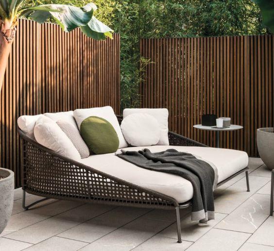18 sof s de exterior for Sofa exterior con almacenaje
