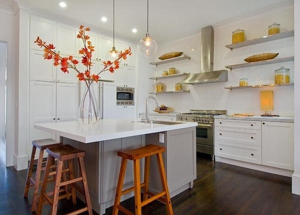 Algunas ideas de almacenamiento al aire para tu cocina for Ideas para disenar tu cocina