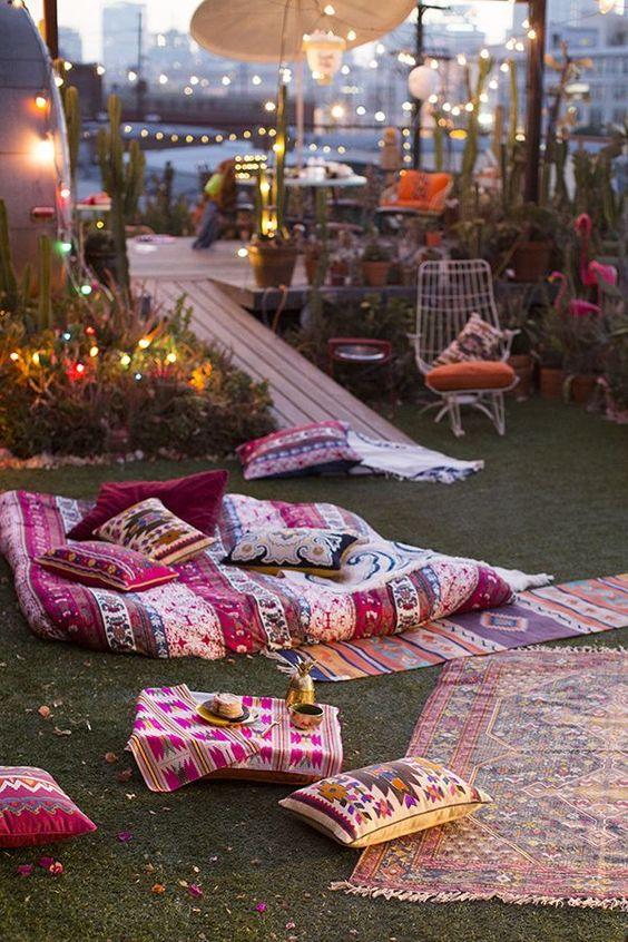 Decora tu terraza en estilo boho marroqui 02 gu a para - Decora tu terraza ...