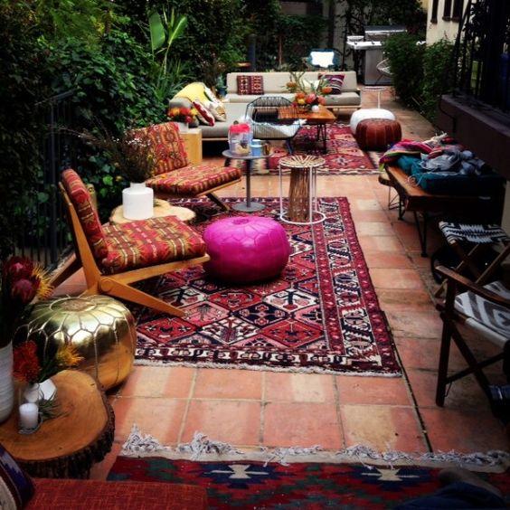 15 Ideas Para Decorar Tu Terraza En Estilo Boho Marroquí