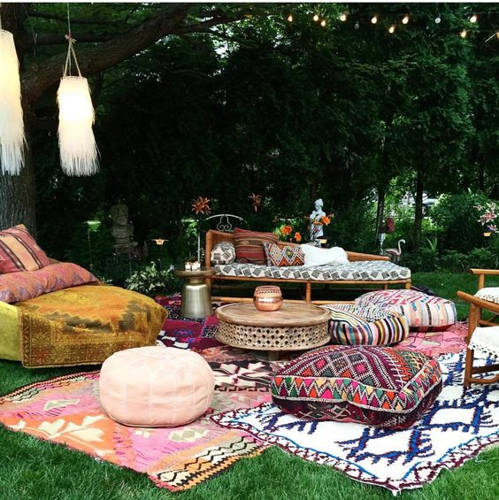 15 ideas para decorar tu terraza en estilo boho marroqu - Casas marroquies ...