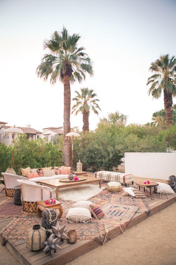 Decora tu terraza en estilo boho marroqui 13 gu a para - Decora tu terraza ...