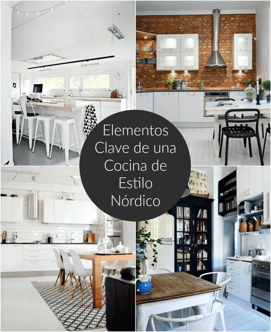 Elementos clave de una cocina de estilo n rdico for Elementos cocina