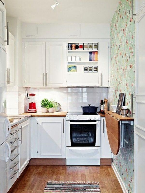 Ideas deco increíbles para cocinas pequeñas