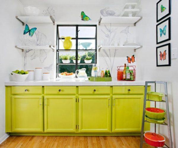pero cuando se trata de una cocina pequea es donde vemos al mximo su potencial hacen que la cocina parezca mayor pues liberan mucho espacio visualmente