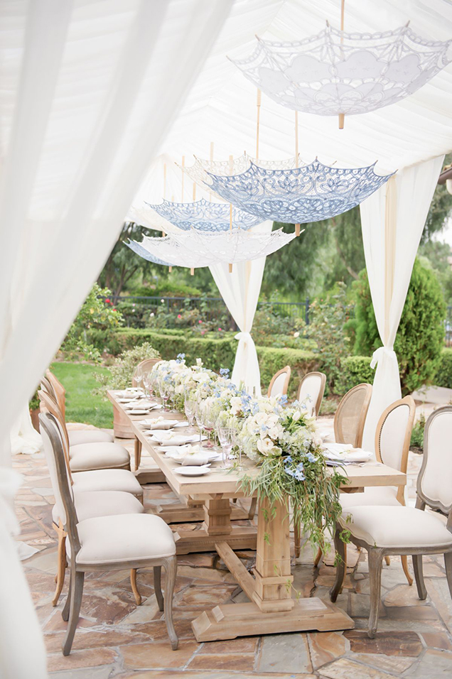 C mo decorar la mesa para una fiesta al aire libre for Peces para estanques al aire libre