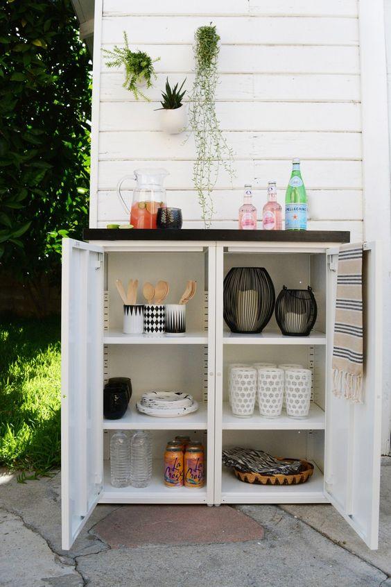 Mobiliario de almacenamiento para exterior - Muebles almacenaje exterior ...