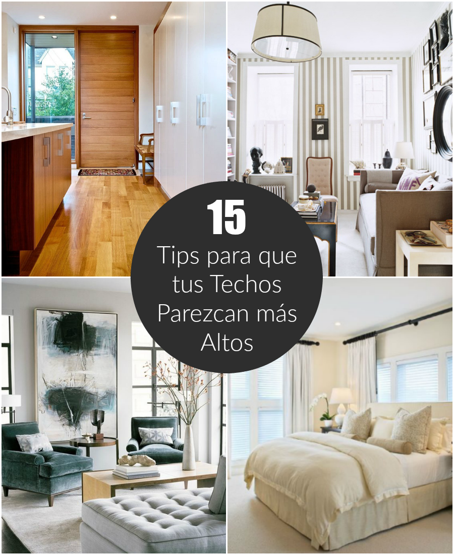 15 tips para que tus techos parezcan m s altos - Techos altos decoracion ...