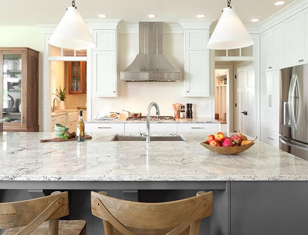 Encimeras de cocina cuarzo o granito for Encimeras de cocina