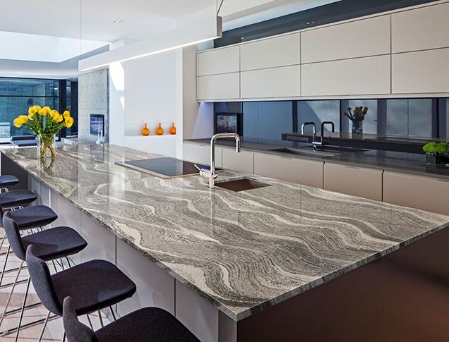 Encimeras de cocina cuarzo o granito for Mejor material para encimeras de cocina