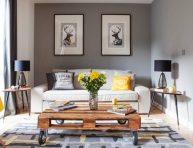 imagen Muebles modernos hechos con palets