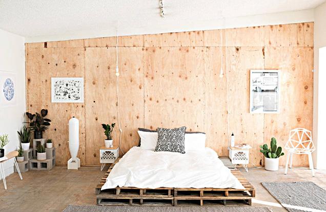 Muebles modernos hechos con madera de palet 11 gu a para - Muebles hechos con pale ...