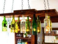 imagen Proyectos decorativos con botellas de vino