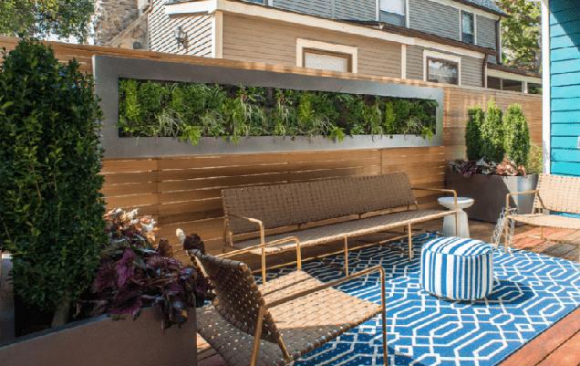 21 espectaculares jardines verticales for Jardin vertical terraza
