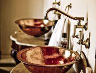 imagen 8 fantásticos lavabos de metal y 7 de cerámica decorada