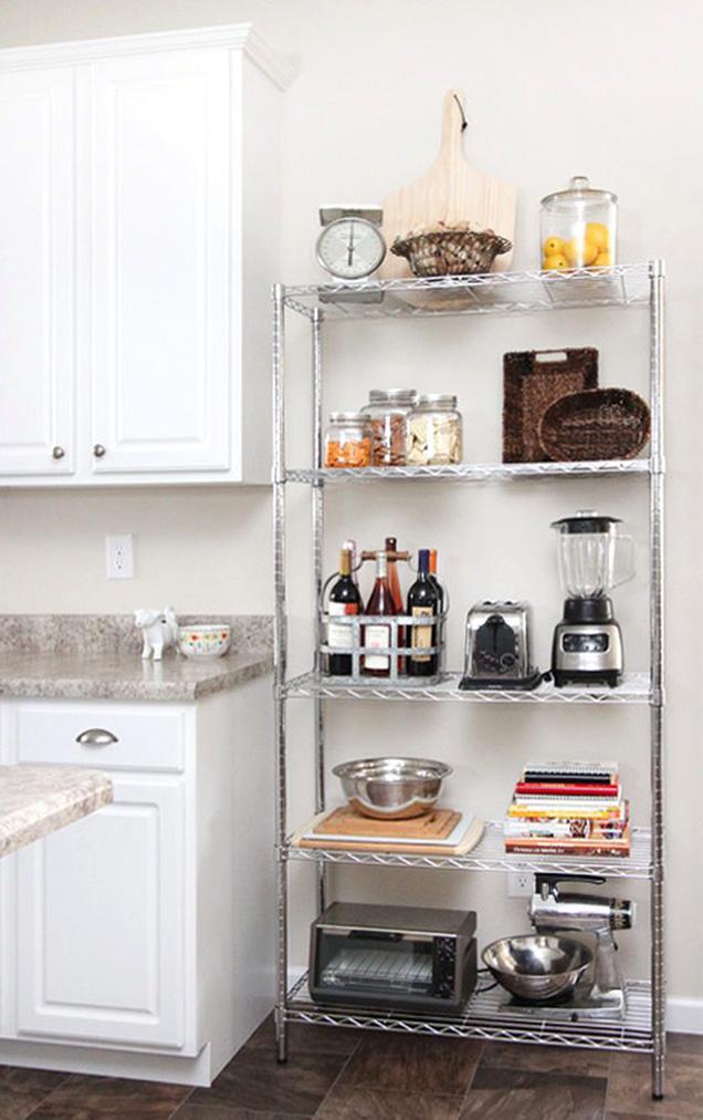 9 ideas para decorar la cocina de una vivienda en alquiler - Decoracion cortinas cocina ...