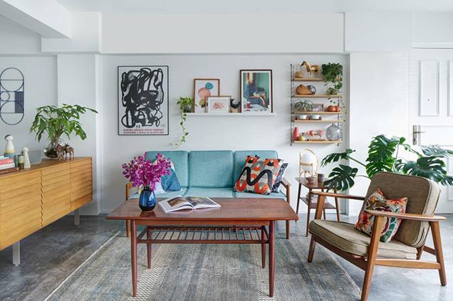 Decorar tu nuevo hogar con tus viejos muebles