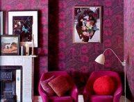 imagen Ideas para decorar tu casa en color morado
